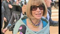 Anna Wintour interview: Vogue editor hits the Burberry show