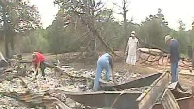 Okla. City Families Pick Up Pieces After Wildfire