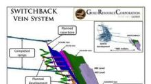 Gold Resource Corporation Arista Mine Development Crosscuts Switchback Vein System