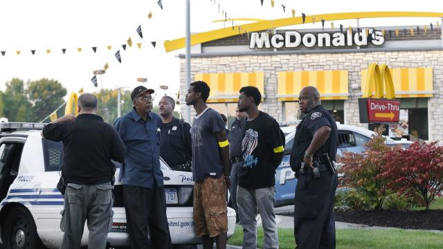 Arrests at fast food worker protests