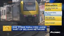 CNBC update: Belgian rail strike