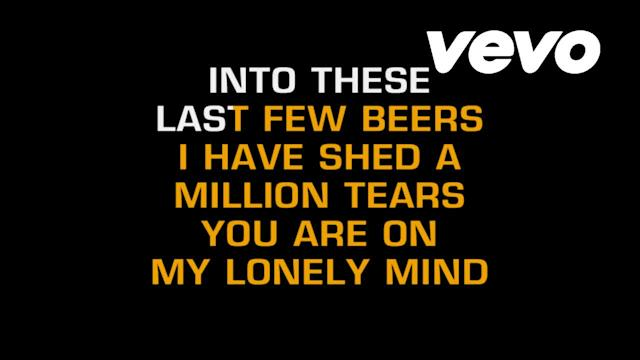 There's A Tear In My Beer (Karaoke)