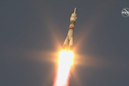 3 new crewmembers launch to space station after Russian rocket failure in October