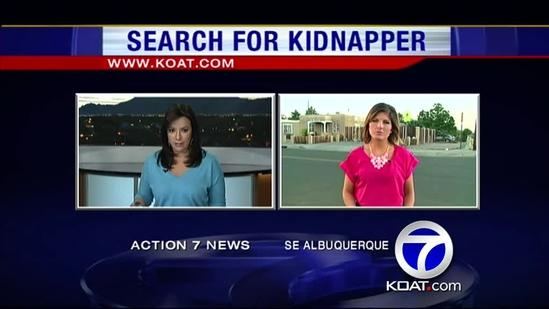 Police search continues for kidnapper
