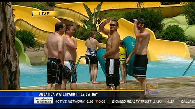 Aquatica waterpark preview day