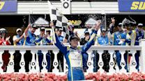 Victory Lane: Ryan Blaney