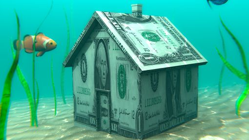 Big U.S. Cities Still Up To Their Necks In Underwater Mortgages