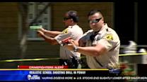 Realistic school shooting drill in Poway