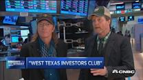 'West Texas Investors Club' at the NYSE