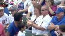 Cubs Fan Steals Foul Ball From Kid But The Little Guy Still Wins