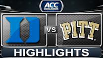 Duke vs Pitt | 2014 ACC Basketball Highlights