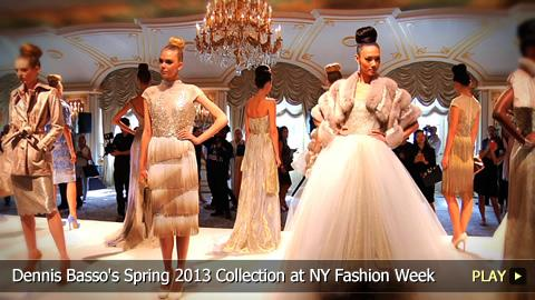 Dennis Basso's Spring 2013 Collection at New York Fashion Week