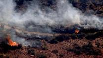 Wildfires rage in California and Arizona
