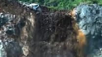 Watch: Landslide in China caught on video