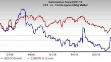 Guess' (GES) Slips to Sell: What's Wrong with the Stock?