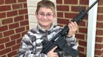 Picture of child holding gun prompts police probe
