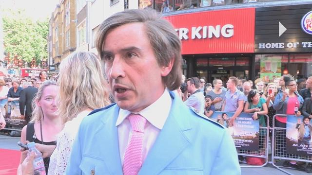 Alan Partridge: Alpha Papa - Premiere Report