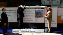 Philadelphia Unveils New Required Construction Site Signage