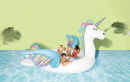 Target is selling a giant unicorn float that will hold up to 6 people