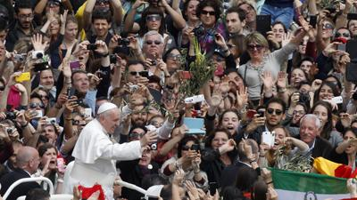Raw: Pope Leads Vatican Palm Sunday Procession