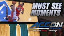 Duke's Jahlil Okafor Makes Circus Shot vs Syracuse | ACC Must See Moment