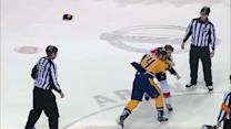 Colin Greening and Eric Nystrom scrap