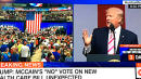 Trump Says 'Fake News' Won't Show Crowd Size As CNN Shows Crowd Size