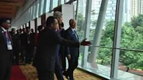 Kerry in KL for business summit
