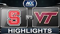 NC State vs Virginia Tech | 2014 ACC Basketball Highlights