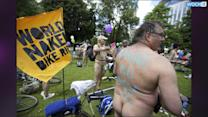 World Naked Bike Ride Is Exactly What It Sounds Like