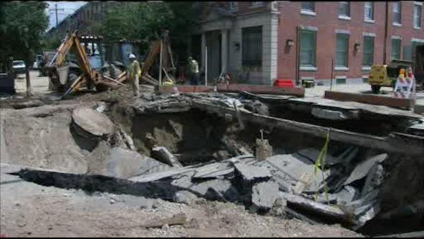 Street reopens 3 months after South Phila. water main break