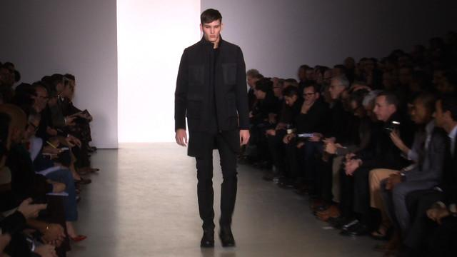 Calvin Klein Collection: Fall 2013 Menswear