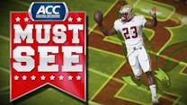 BC's Myles Willis 38-Yard Touchdown Run | ACC Must See Moment