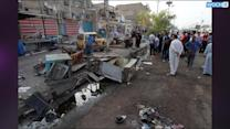 Double Bombing At Party Office Kills 19 In Iraq