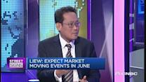 'Expect market-moving events in June'