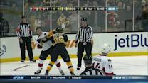 Zack Smith and Kevan Miller scrap