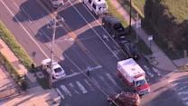 Crossing guard hit by car in SW Philadelphia