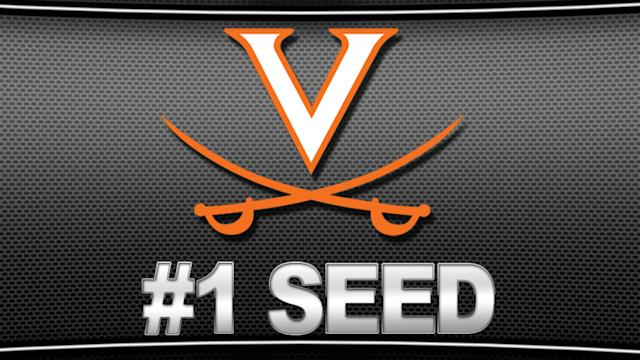 Virginia Gets #1 Seed in NCAA Tournament