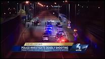Shooting victim found dead on busway