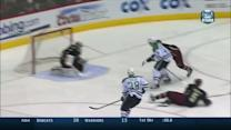 Roussel beats Smith from the high slot