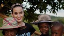 Katy Perry Goes Back to School in Madagascar