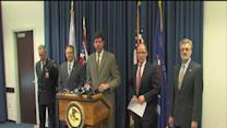 RAW: Justice Dept. news conf on Cleveland police