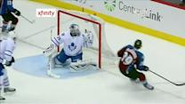 MacKinnon gets goal on rush past Reimer