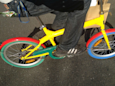 Google has hired 30 employees to try and stop locals from stealing its bikes in droves (GOOGL)