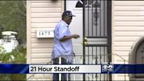 Neighbors Return Home After Harvey Standoff Ends