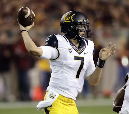 Cal QB hopes to learn from Goff's mistakes against Utah