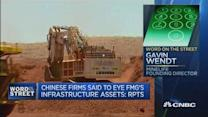 Fortescue shares leap on reports of Chinese moves