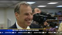 Bob Filner sworn in as San Diego's 35th mayor