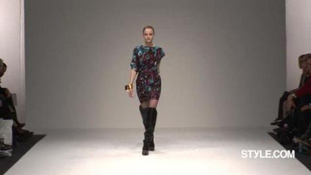 Style.com Fashion Shows - Peter Pilotto: Fall 2009 Ready-to-Wear