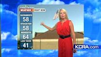 Tamara's Thursday Forecast: Cooler temps on the way